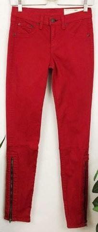 Rag & Bone Devi Twill Ankle Zip Skinny Jeans