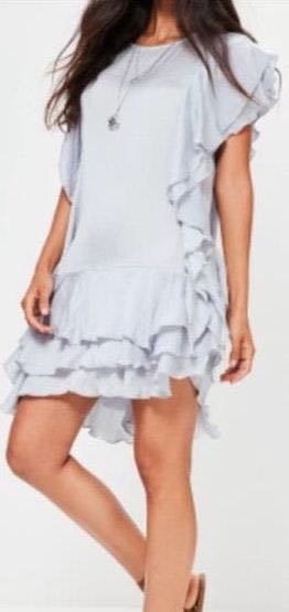 Missguided Ruffle Dress