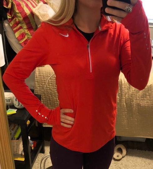 Nike Dri Fit Quarter Zip Pullover
