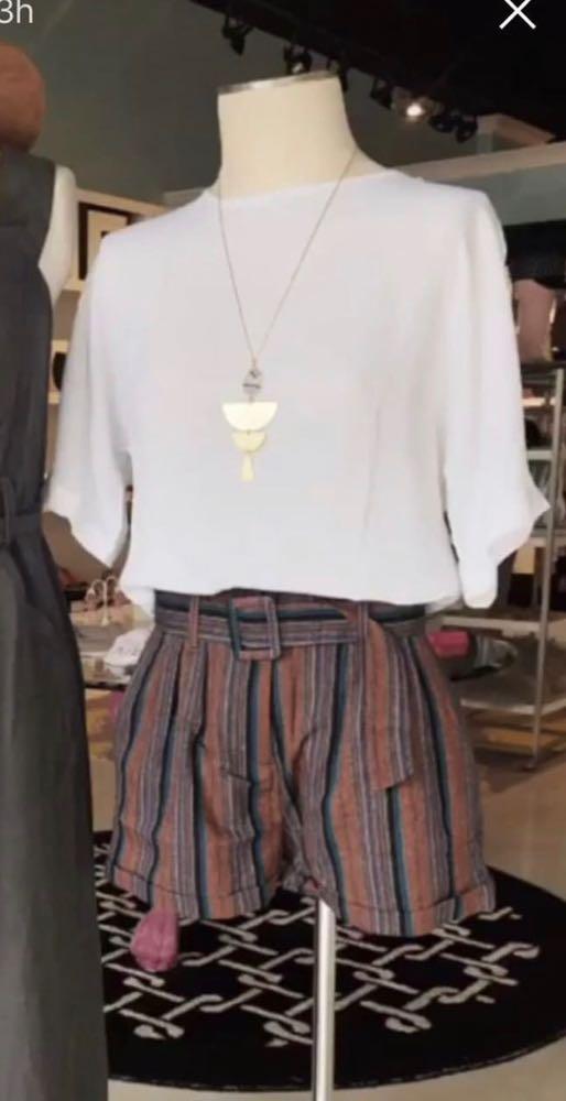 Paperbag Waist Shorts