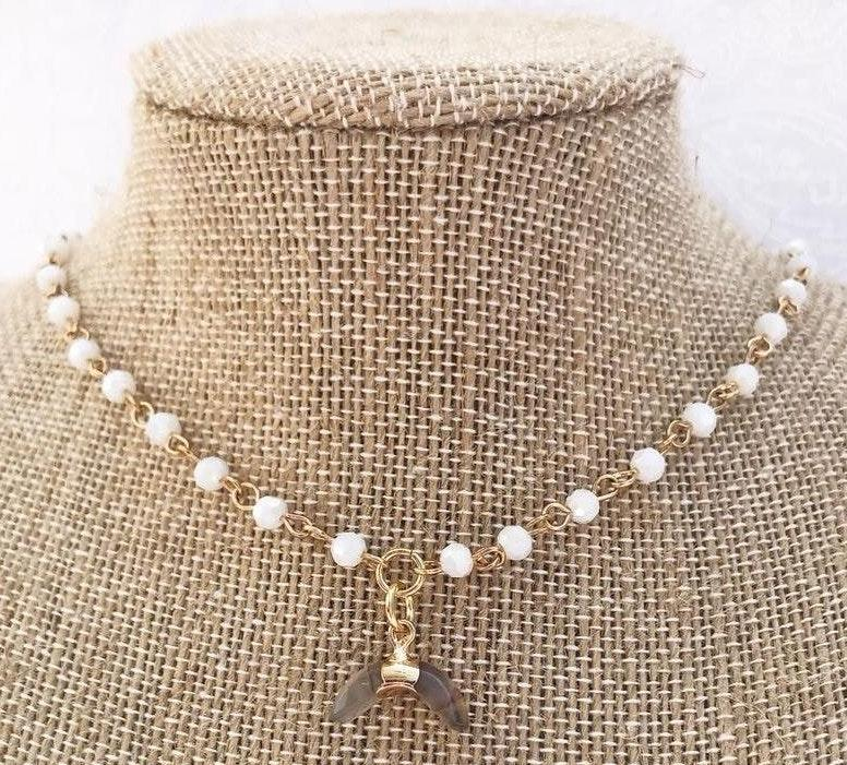 Baby crescent Necklace