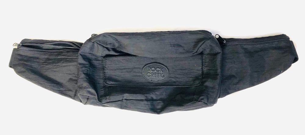 Vintage 90s Rock Creek Black fanny pack