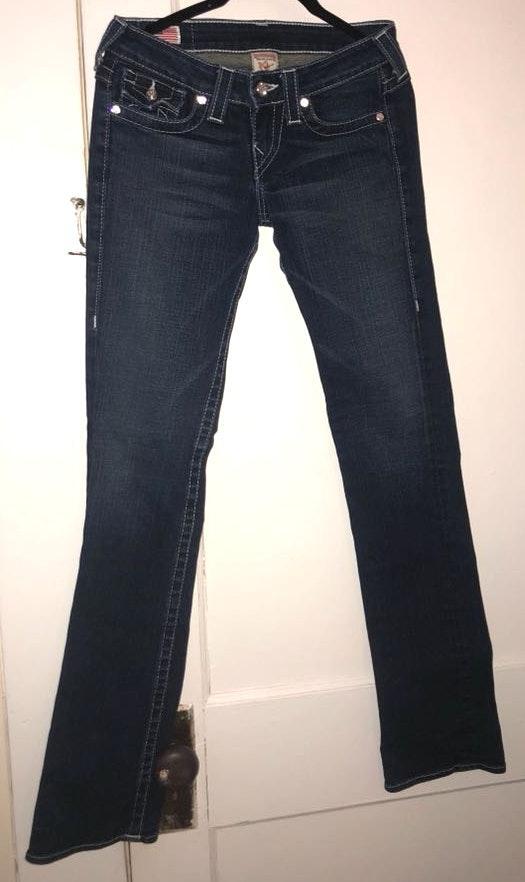 Swarovski Crystal True Religion Jeans