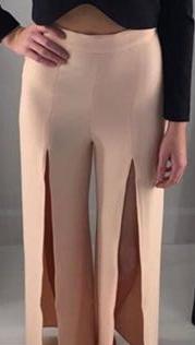 Finders keepers pink dress pants