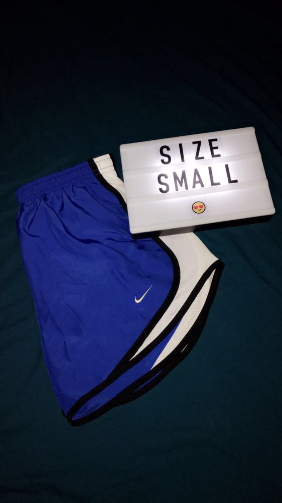 Nike Blue  Tempo Shorts