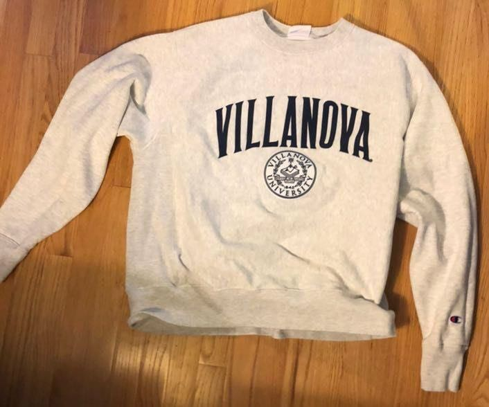 Champion villanova sweatshirt