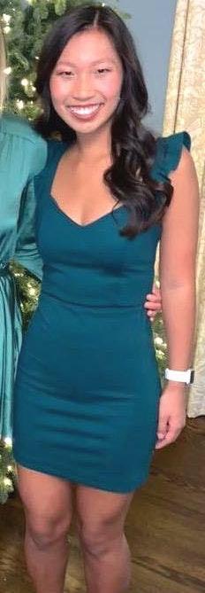 Gianni Bini Green Body Con Dress