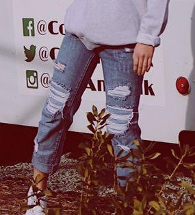 Pacsun Dark Wash Mom Jeans