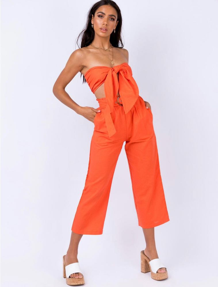 Princess Polly Orange Two Piece