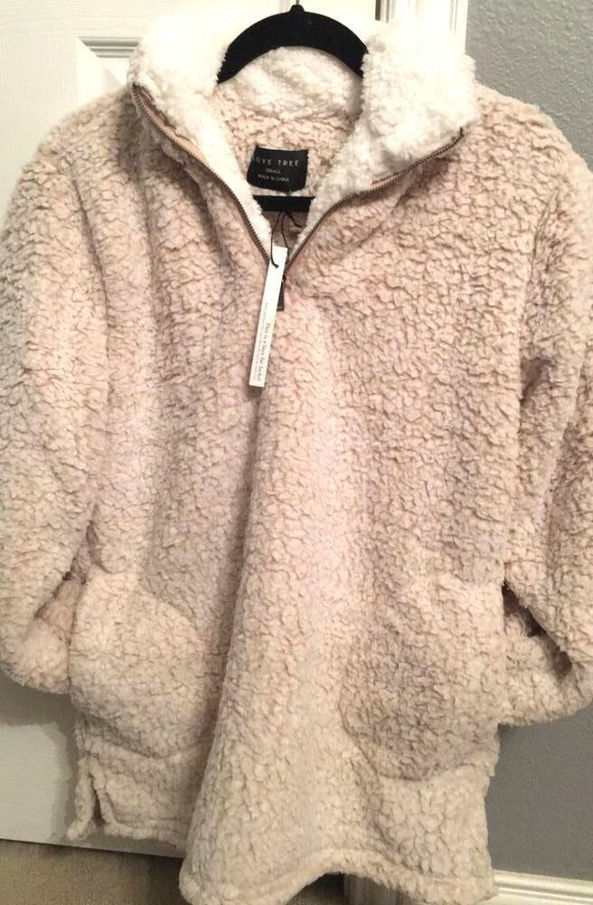 Oatmeal Sherpa Sweater