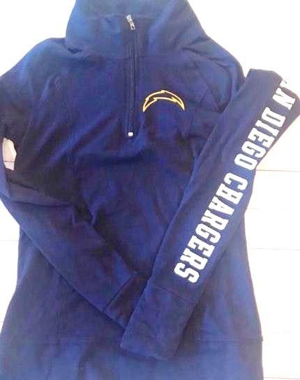 detailed look d4a1f d4b92 PINK Victoria's Secret PINK VICTORIA SECRET | Licensed NFL Zip Up