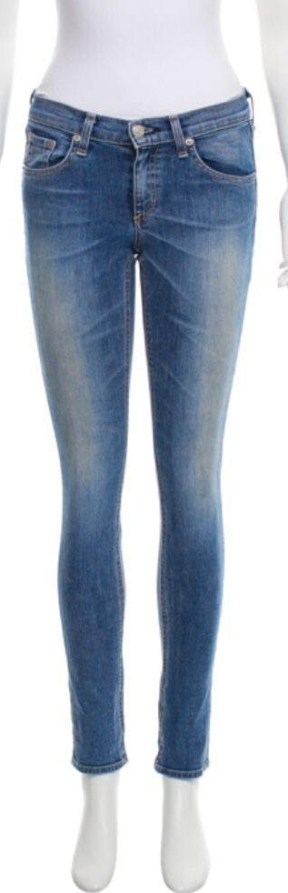 Rag & Bone Light wash blue  low-rise skinny jean Size 25