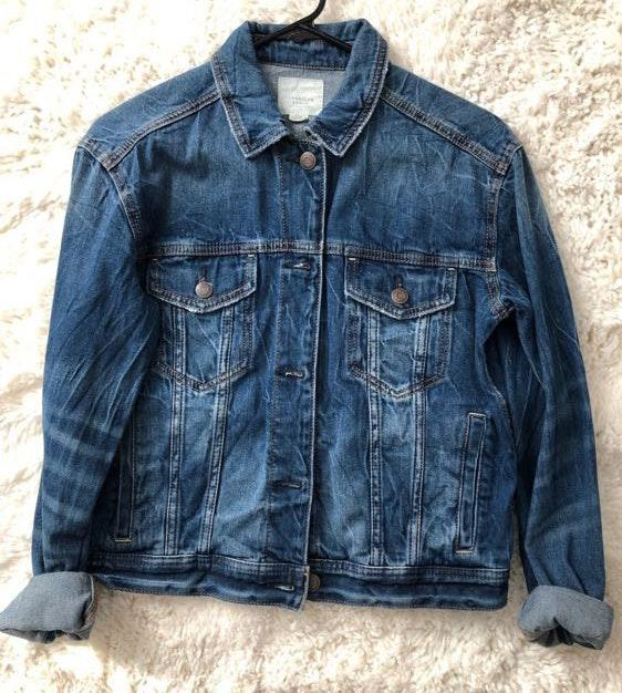 c3b4aa4709 American Eagle Outfitters Jean Jacket
