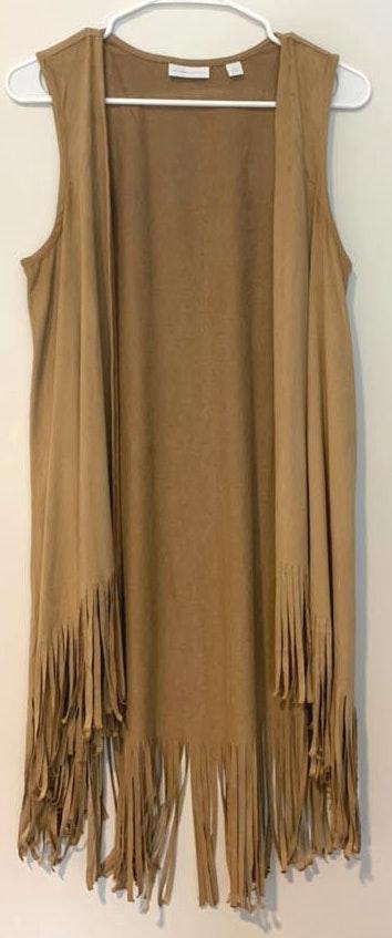 New York & Co. Fringe Vest