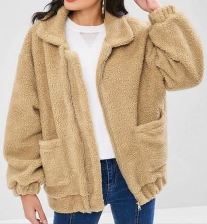 Zaful Teddy Coat