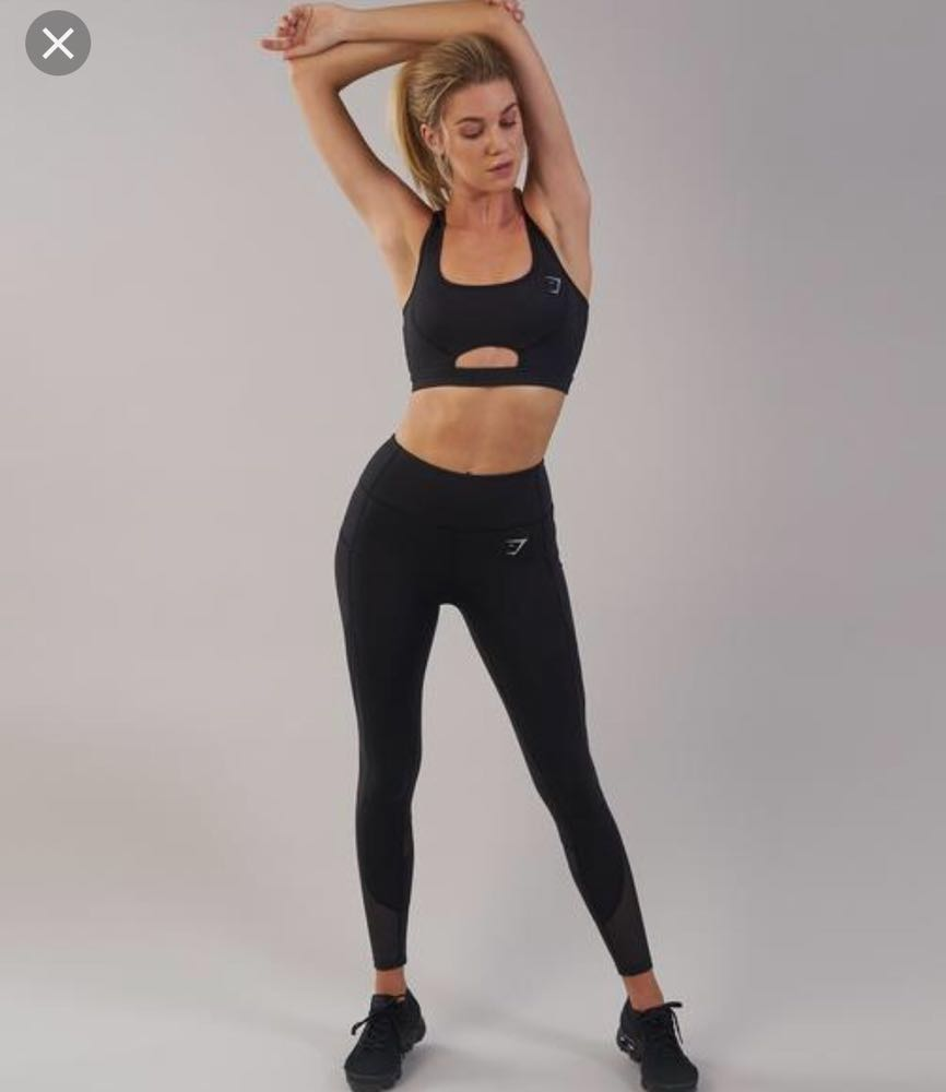 Gymshark Sleek Sculpture Leggings 2.0 In Black