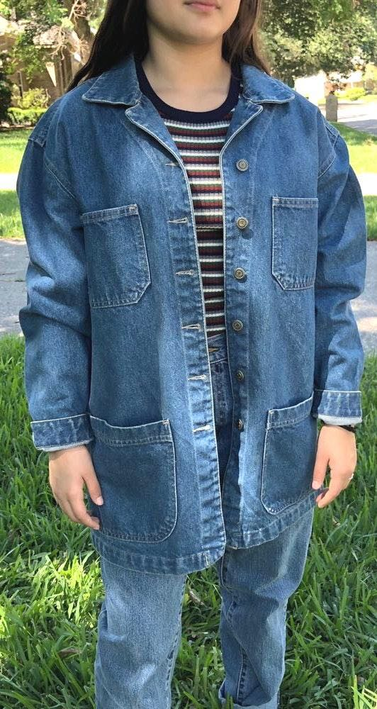 Vintage denim Jacket.