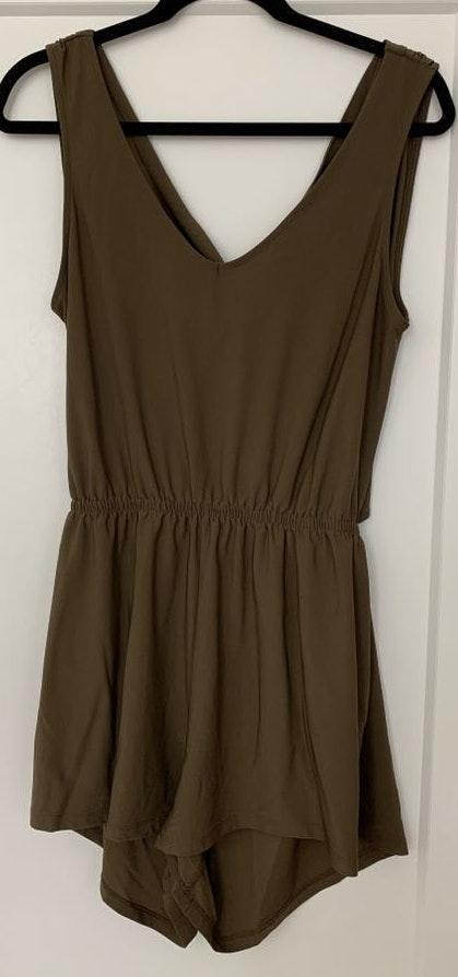 Leith Green Romper