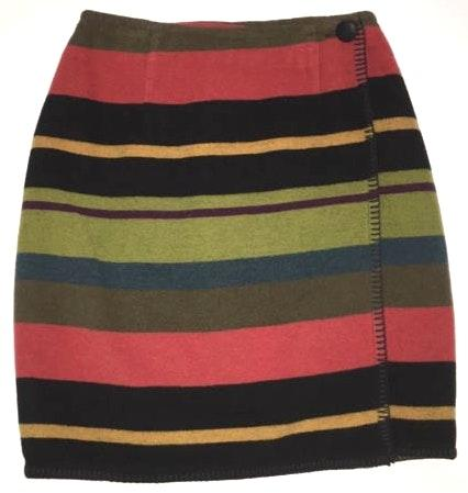 Ann Taylor Blanket Wrap Skirt