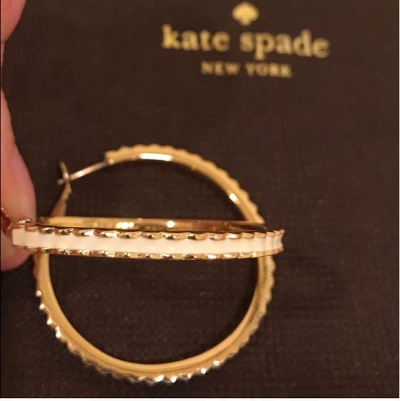 Kate Spade Hoop Earrings