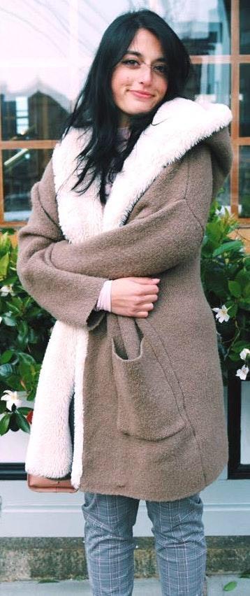 ZARA cozy knit jacket