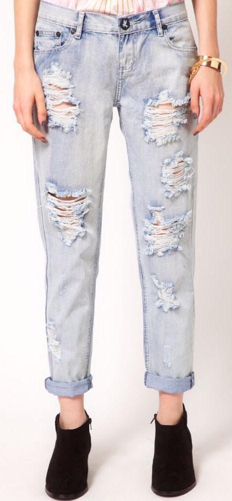 One Teaspoon Awesome Baggies Fiasco Jeans