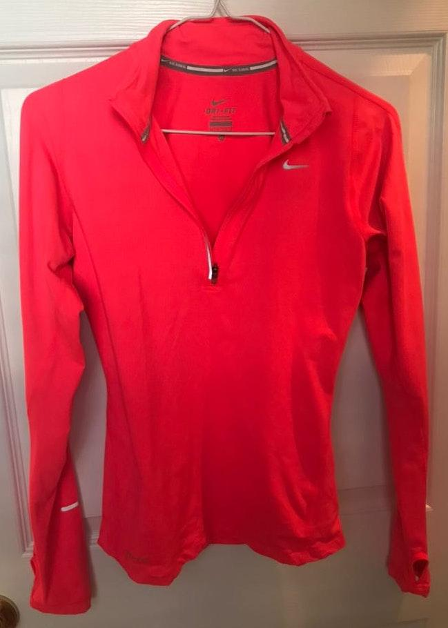 Nike Coral Zip Pullover