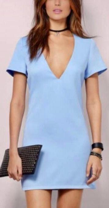 Tobi Powder Blue Dress