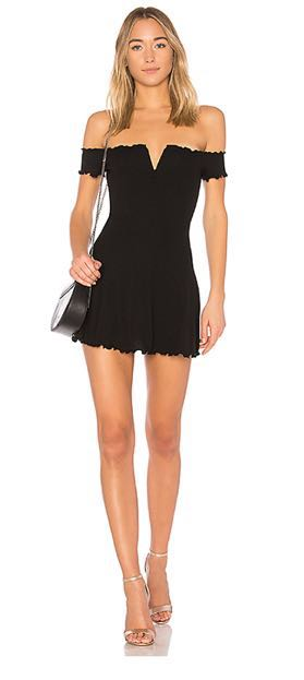 Majorelle Ophelia Dress in Black