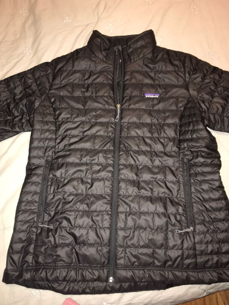 Patagonia Black Nano Puff Jacket