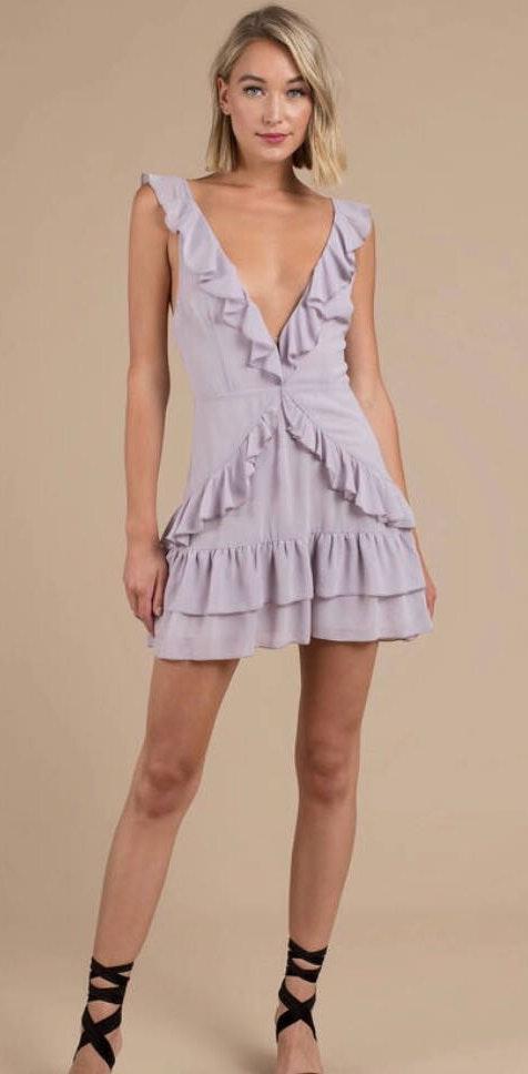 Tobi Purple Dress