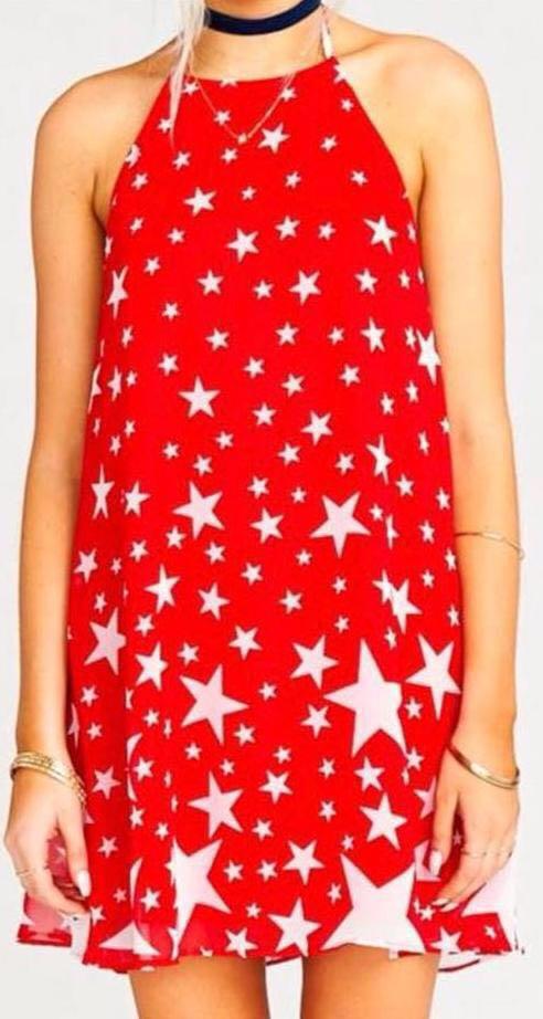 Show Me Your Mumu Catch A falling Star Katy Dress