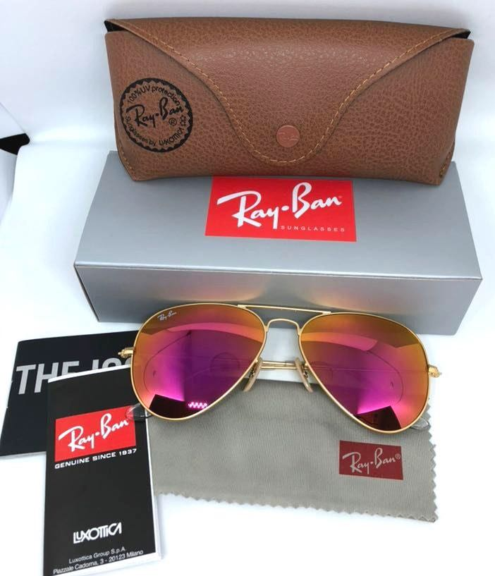 Ray-Ban New Rayban Sunglasses Pink Size 58mm