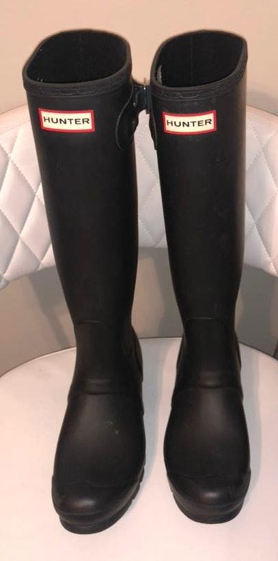 Hunter Black  Boots IN