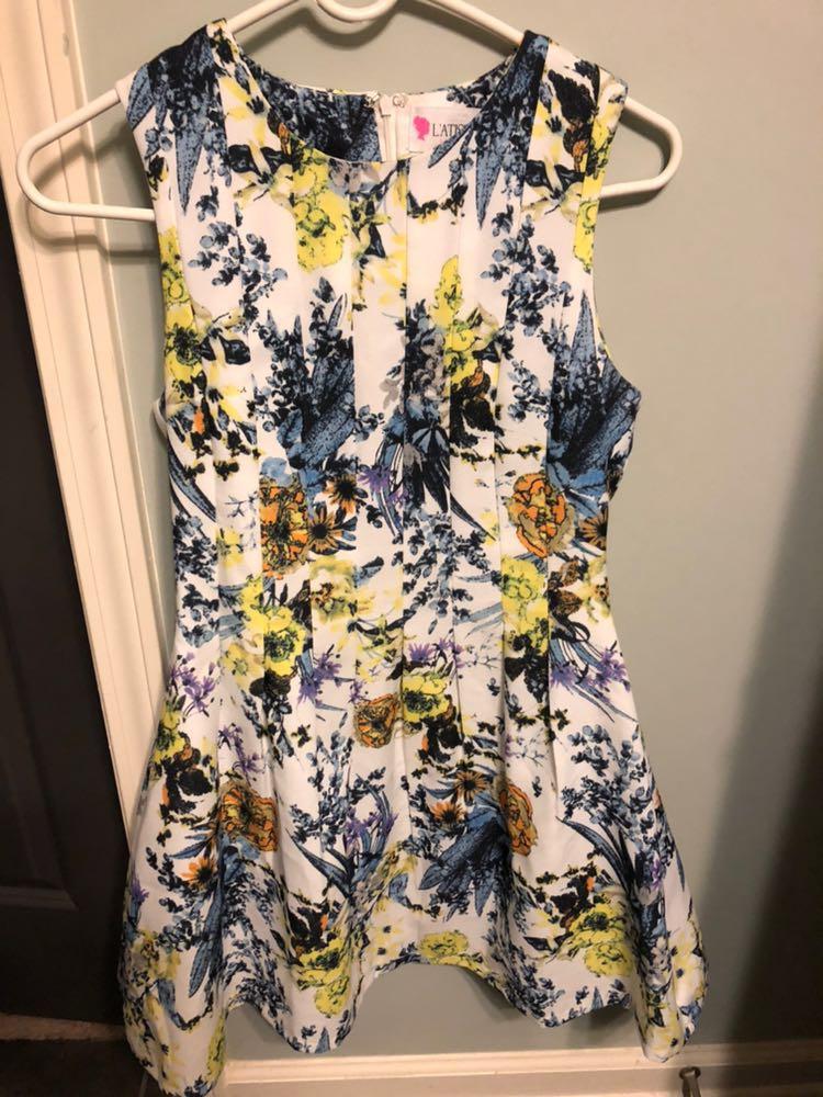 L'ATISTE Floral Dress