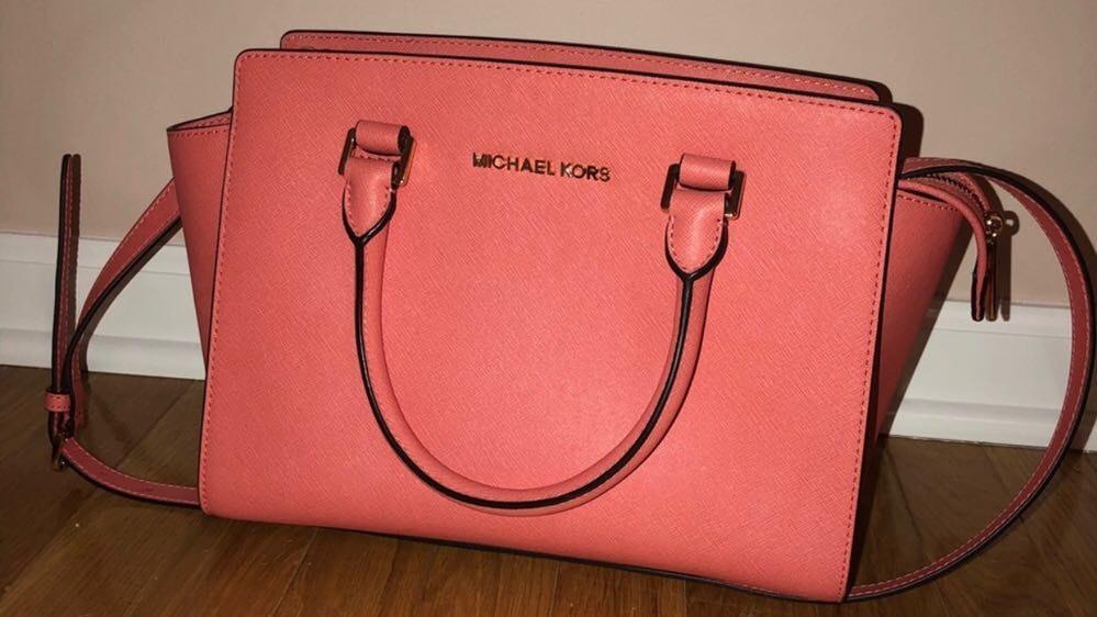 Michael Kors Coral Selma Bag