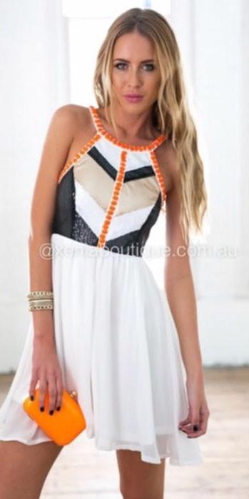 Xenia sequin dress