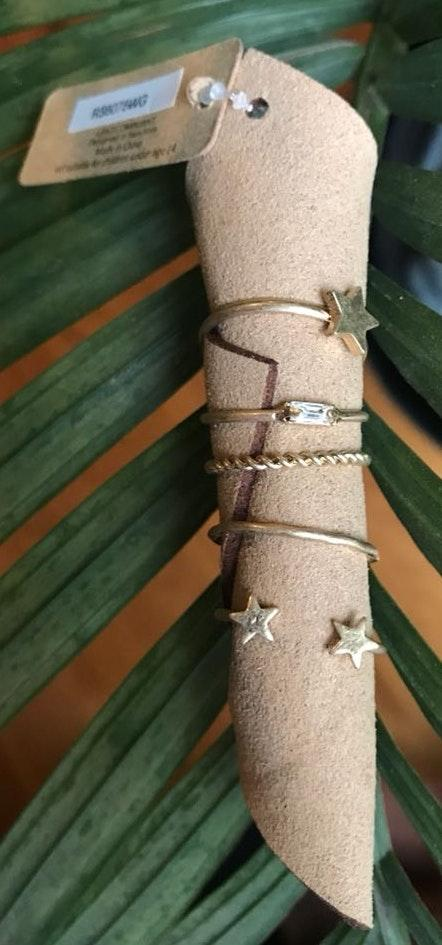 Stackable Midi Ring Set