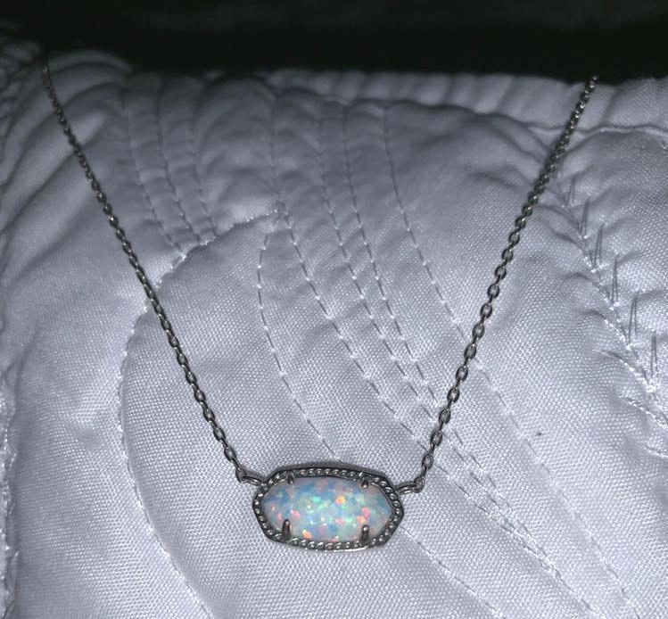 Kendra Scott Opal necklace
