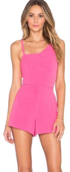 NBD Pink  Romper