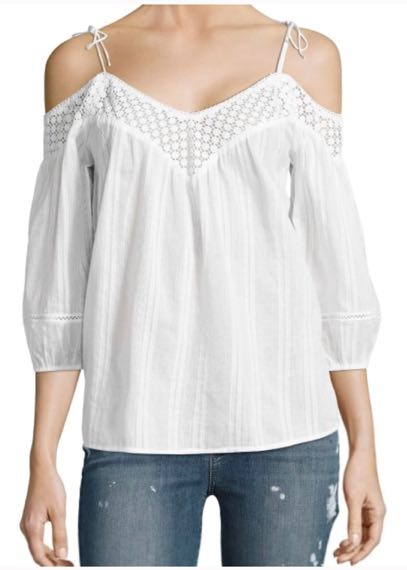 ccaa54856475f Blanc du Nil Off The Shoulder Top