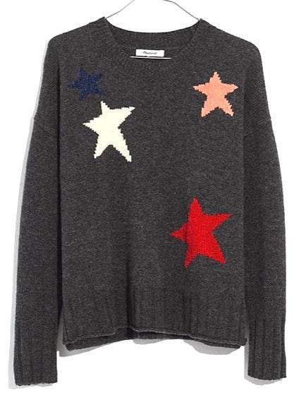 Madewell Star Sweater