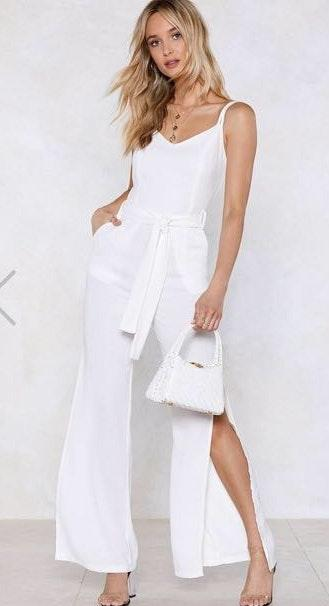 2f46ffb8791 We re the buy sell app for cute clothes. Say to being bored of your  clothes. Home Lulus White Jumpsuit