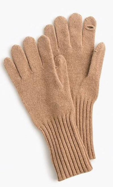 J.Crew Texting gloves in everyday cashmere