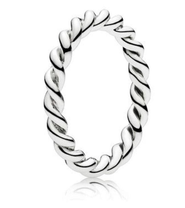 Pandora Intertwined Stackable  Ring
