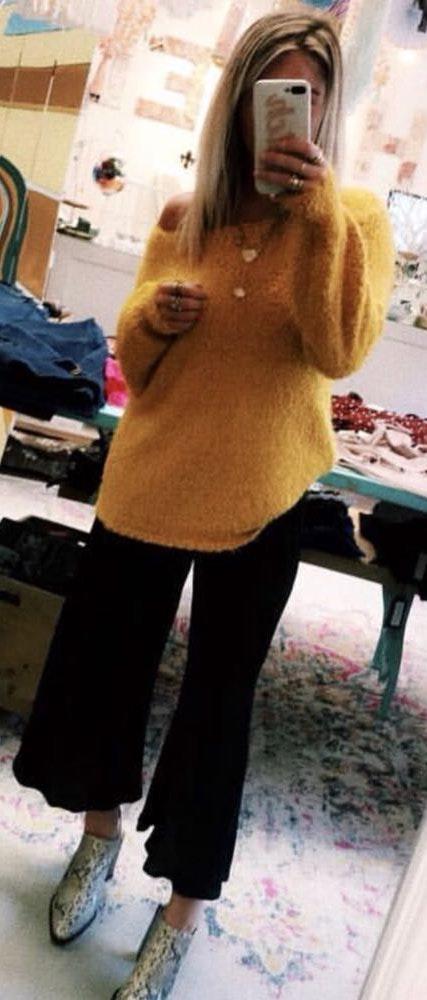 BB Dakota Hazel Boutique Mimosa Sweater
