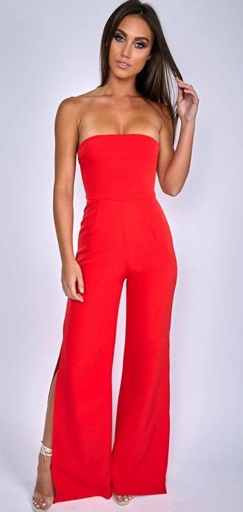 Babyboo Red Jumpsuit