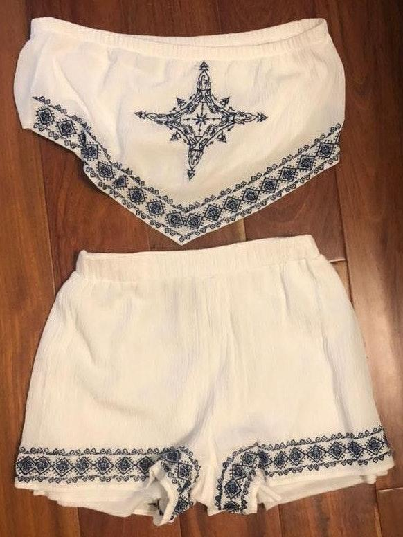 Charlotte Russe Two Piece Set