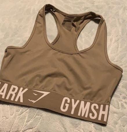 Gymshark Olive Sports Bra