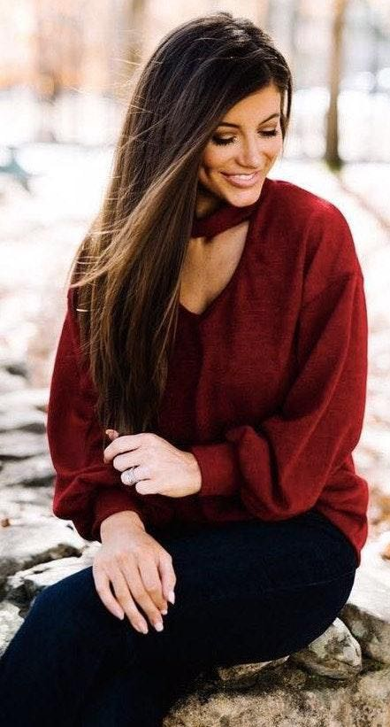 These Three Boutique lightweight sweater